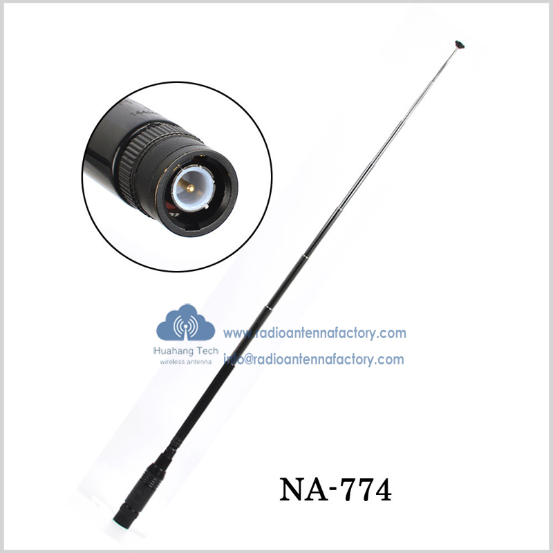 New Nagoya Antenna NA-774 Extendable 90-degree Bendable